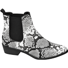Chelsea Boots Reptil-Look