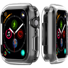 Transparent Silicone Cover til Apple Watch 4-44 mm