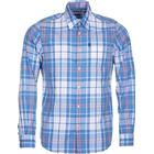 Barbour M's Jeff Shirt Tailored Fit Blue