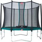 Berg trampolin Favorit inkl. sikkerhedsnet Comfort 430 cm grå