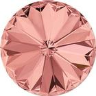 Swarovski crystals Rivoli - Blush Rose Foiled 12mm, 1 styck