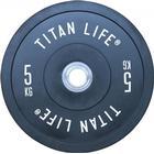 Titan Elite Bumper Plates, 5 kg
