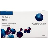 Biofinity Biofinity Toric 3 Pack Kontaktlinser