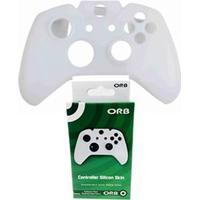 Orb XBOX ONE Controller Silicon Skin - White - Tillbehör för spelkonsol - Microsoft Xbox One S