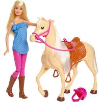 barbie häst som kan gå