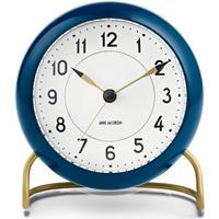 Arne Jacobsen Blå Station bordur med alarm, ø 11 cm