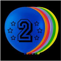 Balloner 2 �rs f�dselsdag - 8 stk