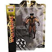 Marvel Select Brown Wolverine Figure Unmasked