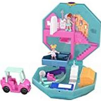 Polly Pocket GDK81 Pocket World Pamperin' Perfume Spa with Surprise Reveals, Micro Dolls & Accessory