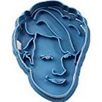 Cuticuter Doctor Who Matt Smith Cookie Cutter, Blue, 8 x 7 x 1.5 cm