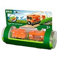 BRIO World - Tunnel & Cargo Train