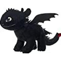 """How to Train Your Dragon 3"""" Toothless Soft Toy Dark Features"""
