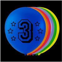 Balloner 3 �rs f�dselsdag - 8 stk