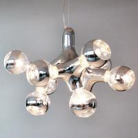 next DNA Chandelier - designer-lysekrone, krom