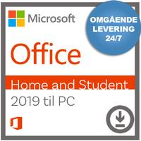 Microsoft Office Home And Student 2019 til PC - Nemsoftware - Modtag produktnøgle med det samme!