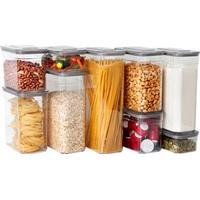 Cook & Baker Opbevaringsbokse - BPA-fri plast - 9 stk.