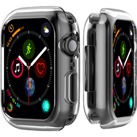 Transparent Silicone Cover til Apple Watch 4