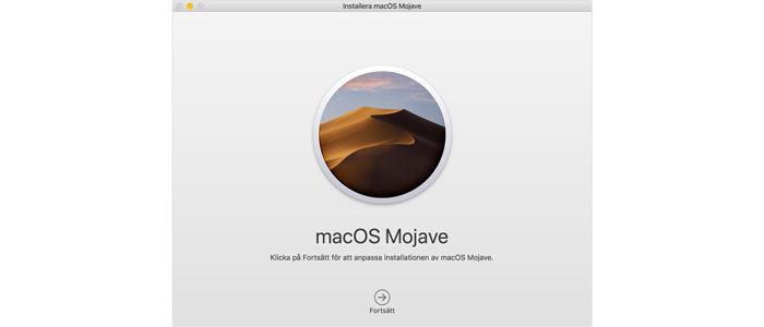 Steg 5 - Återställningen av din mac är klar