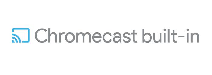 Chromecast built in