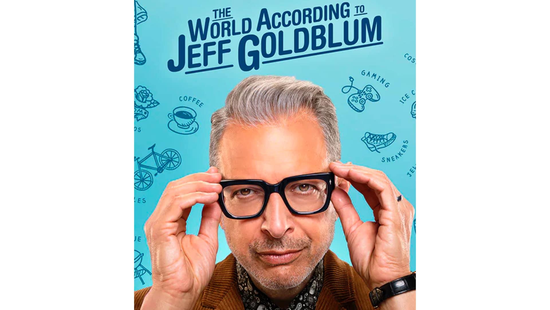 Disney Plus Original Content The world according to Jeff Goldblum