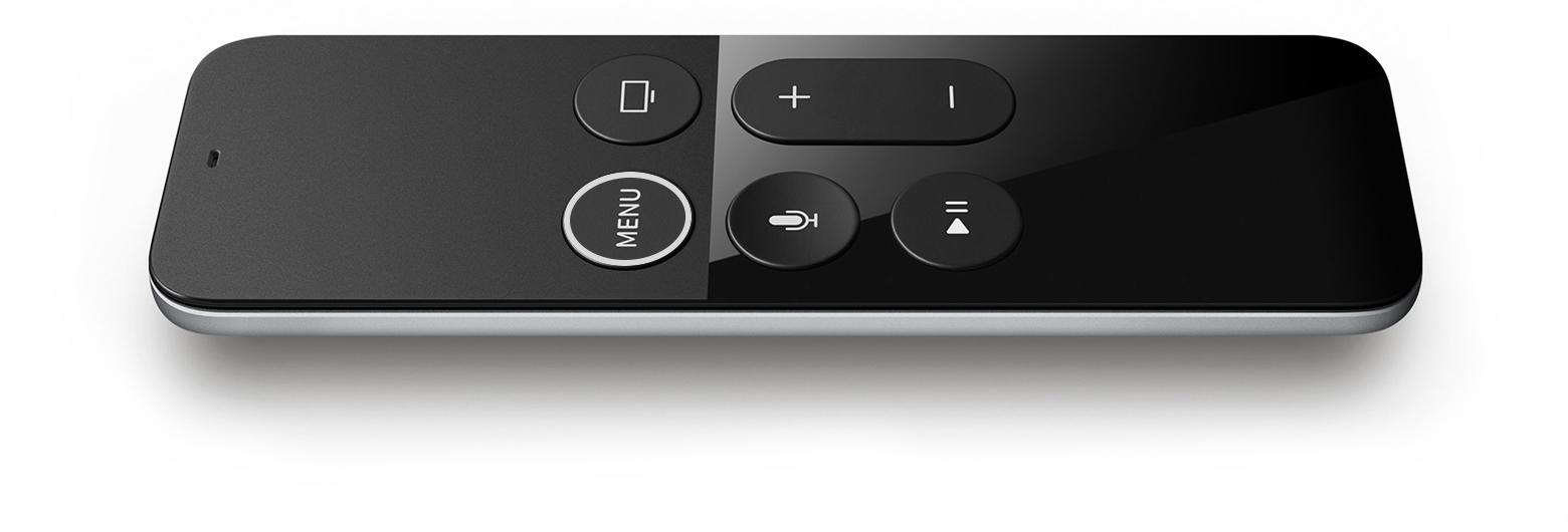 Få igång fjärrkontrollen Siri remote