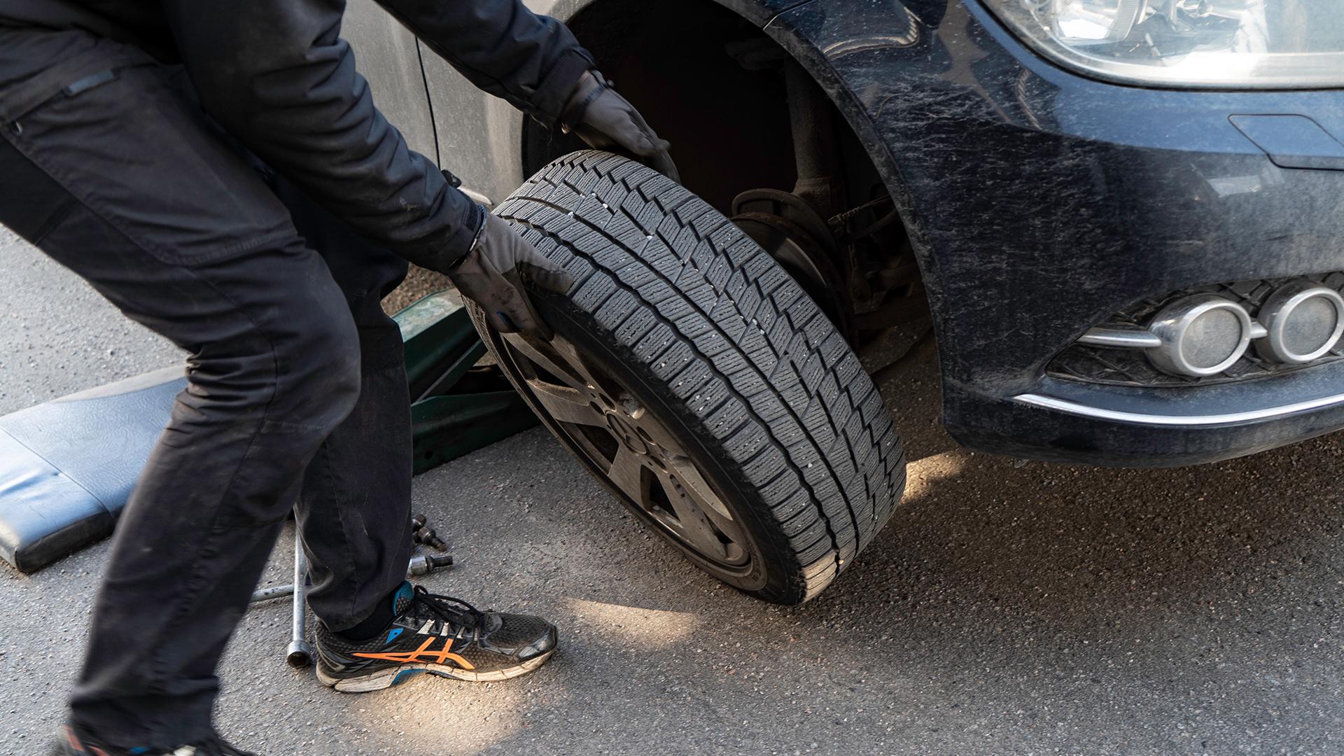 Tag hjulet af bilen