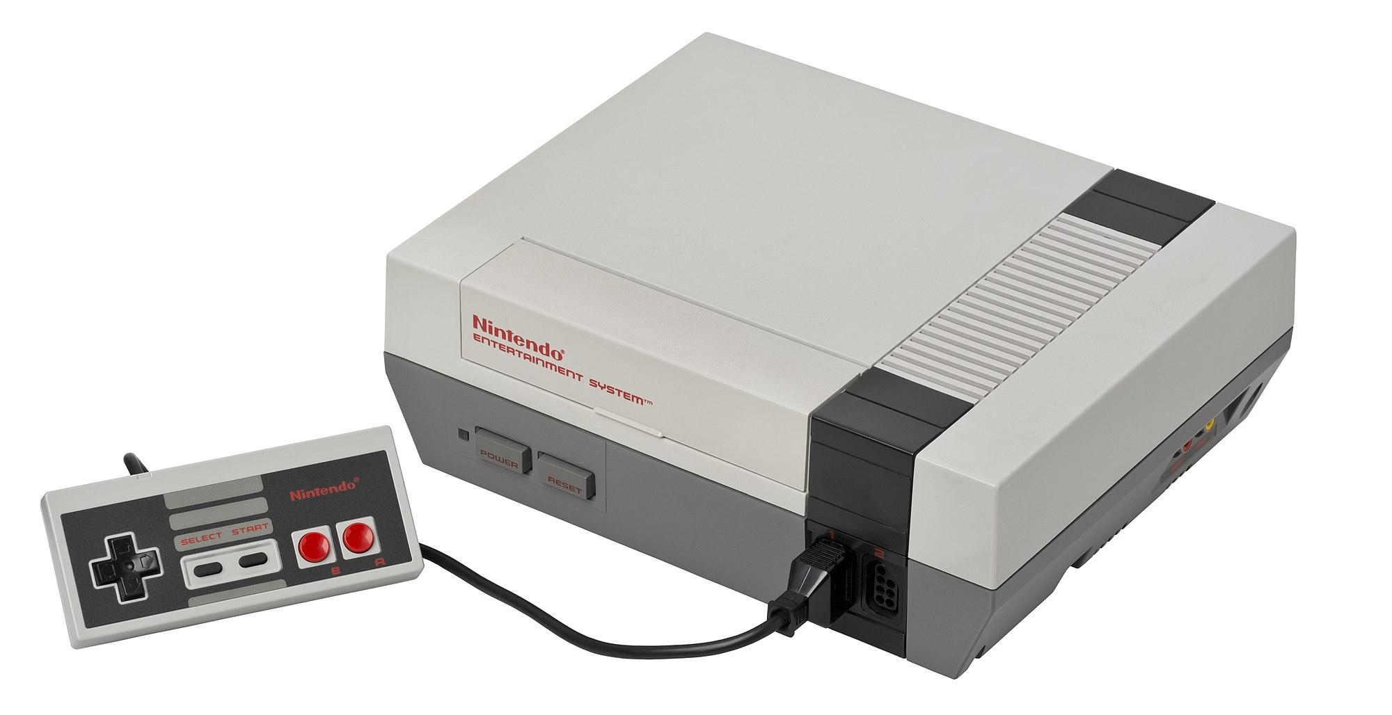NES var den första spelkonsolen Nintendo fick succé med