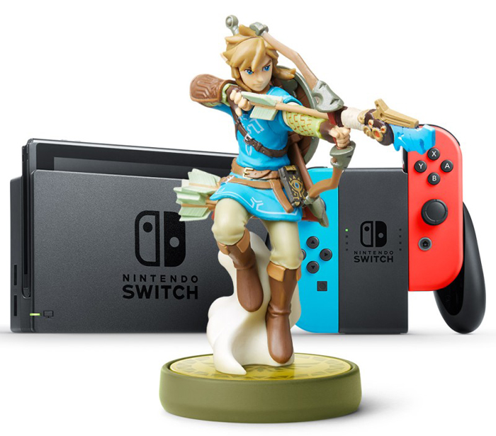 SQ amiibo switch