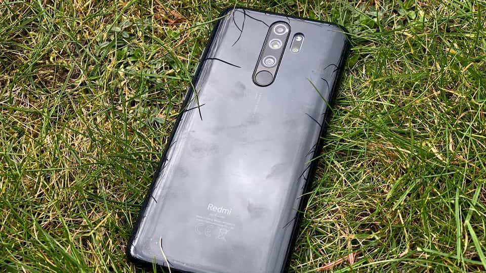 Bagsiden af Xiaomi Redmi Note 8 Pro