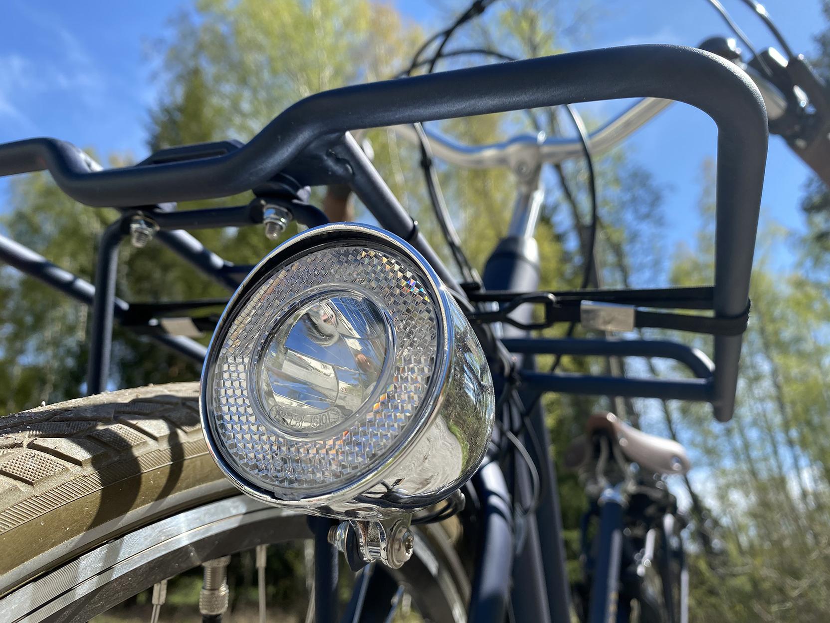 Belysning elcykel Monark Nytan
