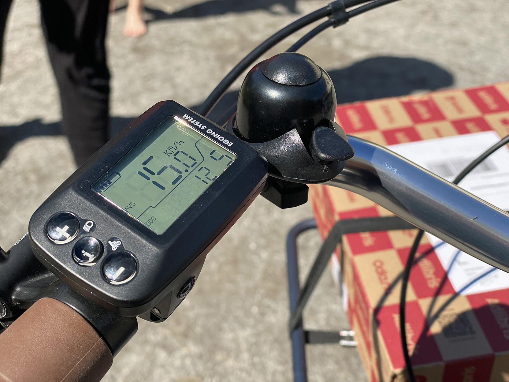 Cykeldator elcykel Monark Nytan