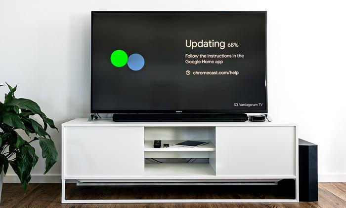 Uppdatera din Chromecast