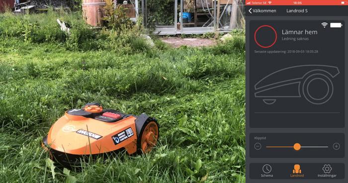 worx-landroid-s-app-och-robotgrasklippare