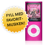 Apple iPod Nano 8GB Pink (4th Generation)