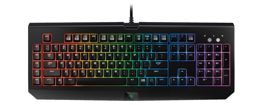 how to clean a black widow keyboard