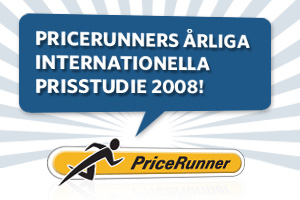 PriceRunners Årliga Internationella Prisstudie 2008