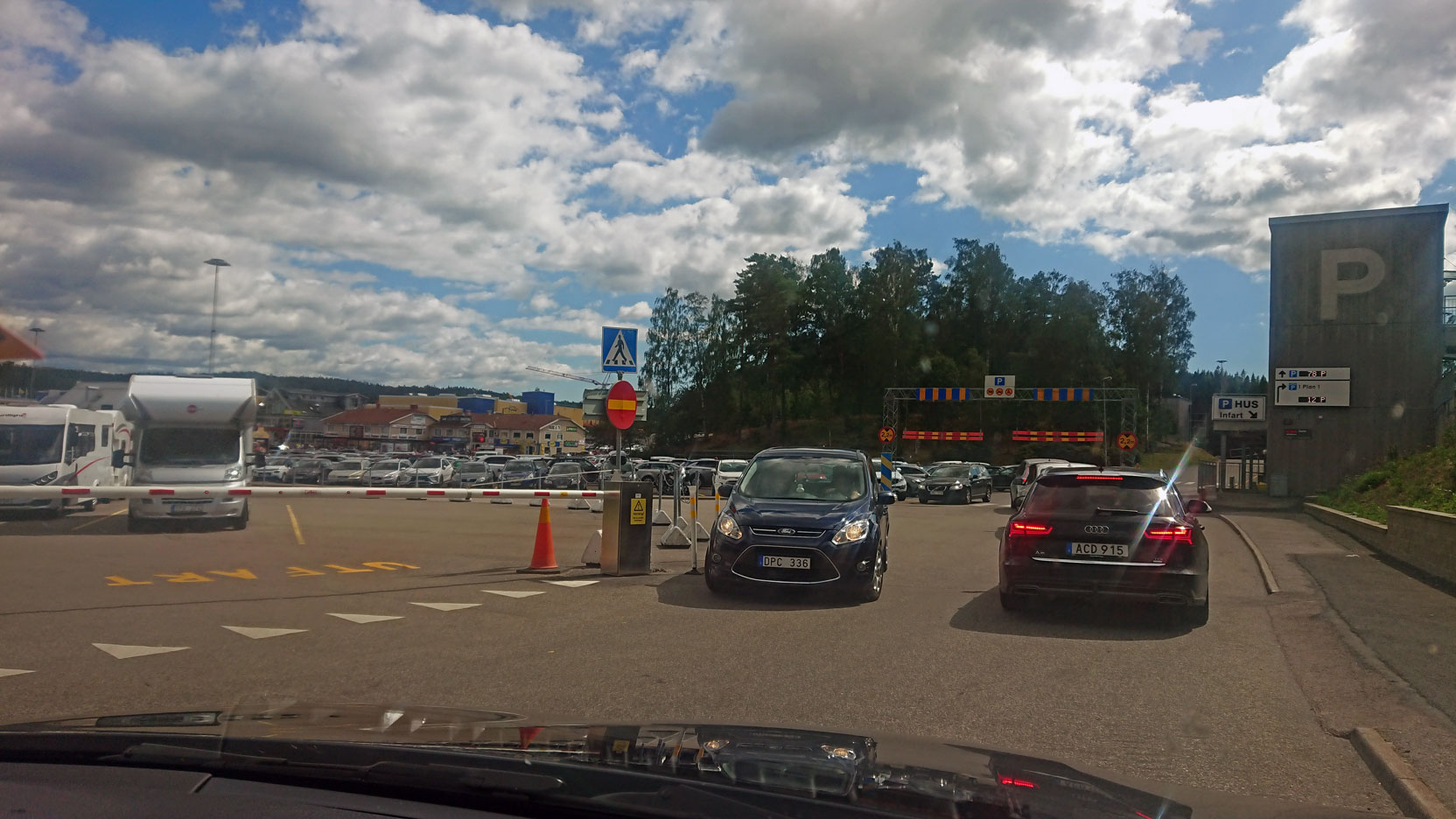 Ullared Gekås parkering