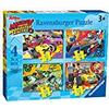 Ravensburger UK 6900 Disney Mickey und Roadster Racers 4 in Box Puzzle