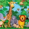 Ideal Decor Murals In the Jungle (00122)