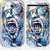 Skinkin Sticker Galaxy S3 de chez Skinkin - Design original : AAAAaaaa par Dire 132