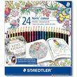 Staedtler Coloured Pencil 185 C24JB