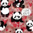 Illux Panda Loves You