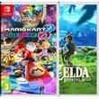 Nintendo The Legend of Zelda - Breath of the Wild + Mario Kart 8 Deluxe Bundle