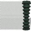 vidaXL Chain Fence 15mx150cm
