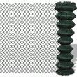 vidaXL Chain Fence 25mx80cm