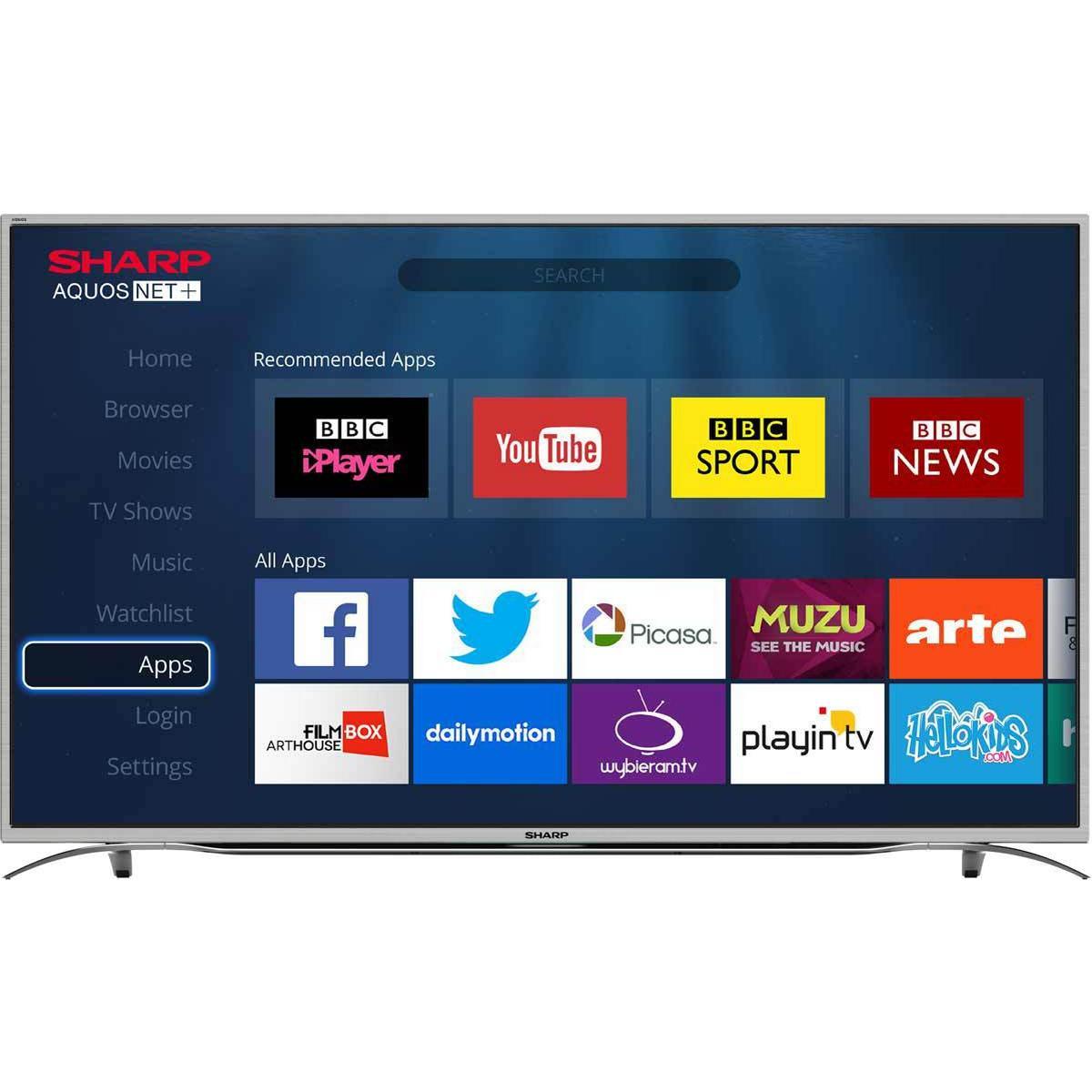 Compare best Sharp 3840x2160 (4K Ultra HD) TVs prices on the market ...