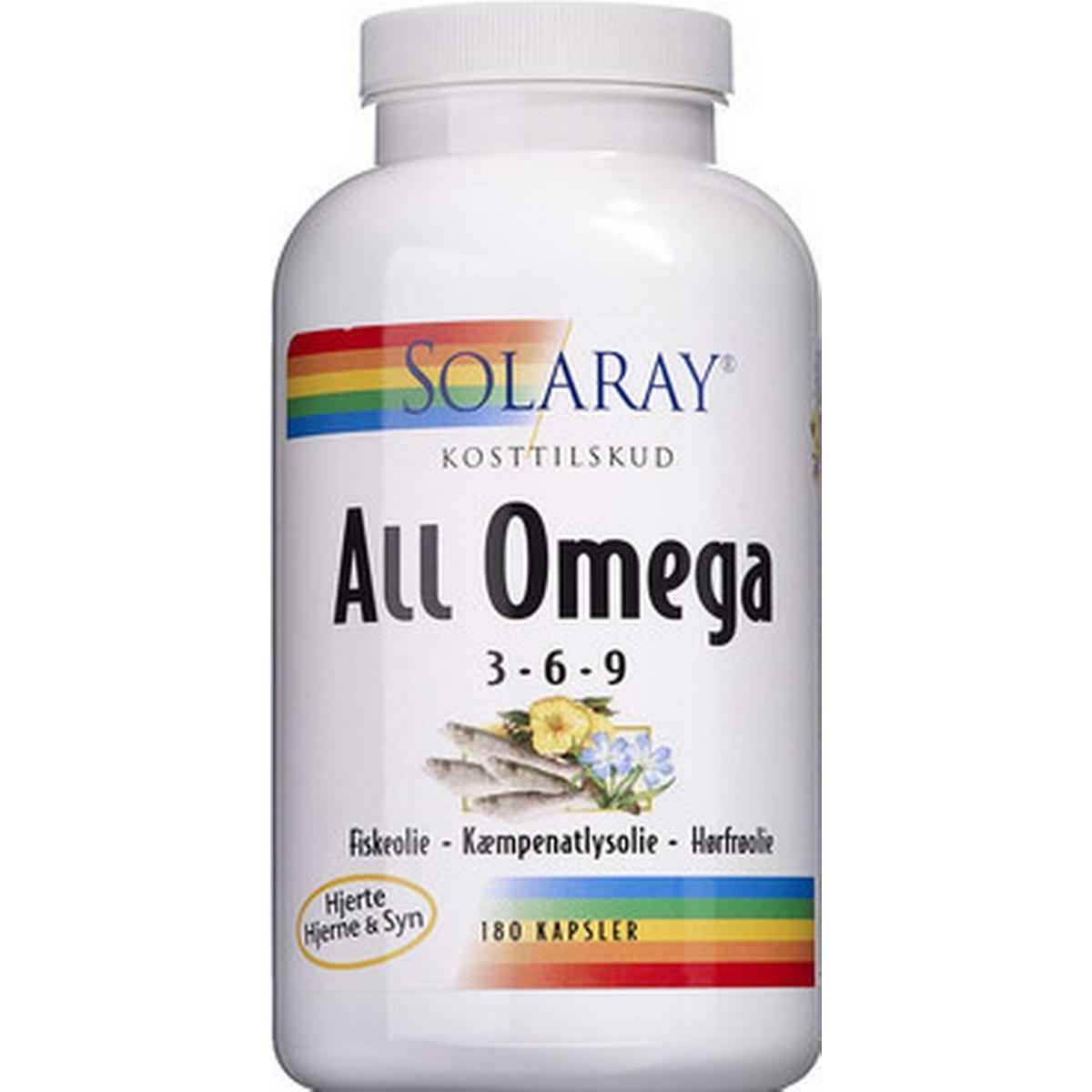 omega 3 fiskeolie tilbud