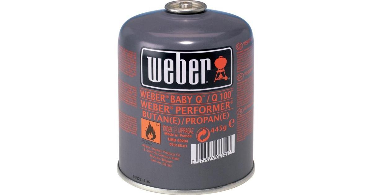 Fantastisk Weber Engangsgasdåse 26100 Fuld gasflaske - Sammenlign priser hos BO27