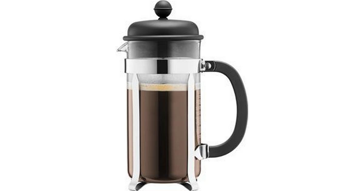 Modernistisk Bodum Caffettiera 3 Cup - Sammenlign priser hos PriceRunner VL32