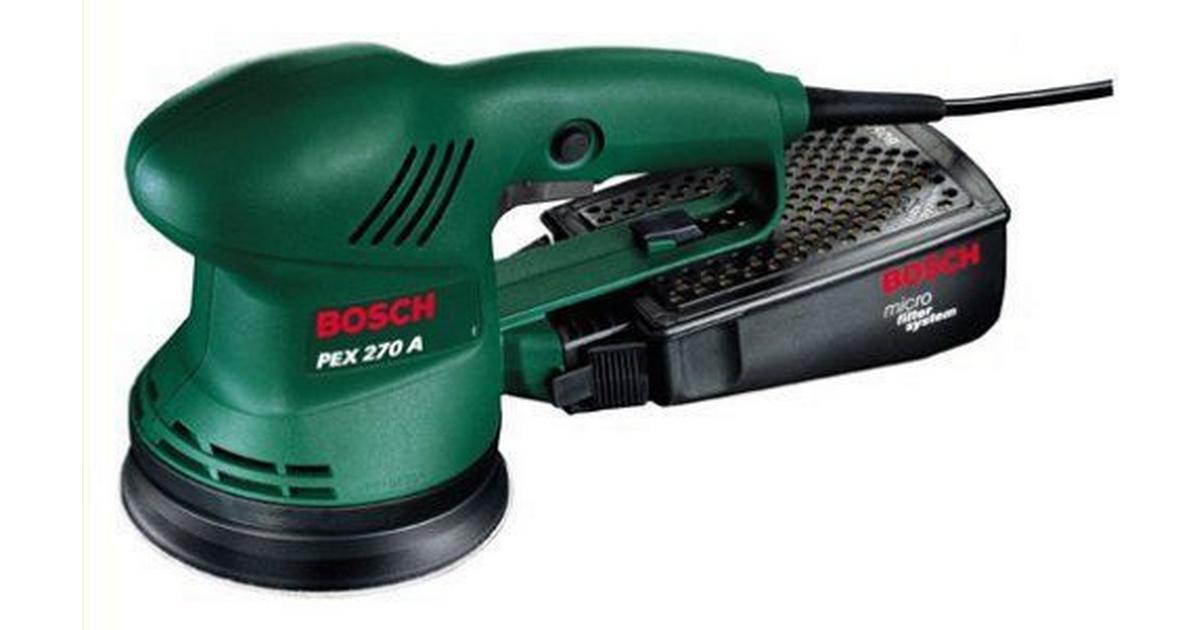 Bosch Pex 270 A : bosch pex 270 a sammenlign priser hos pricerunner ~ Watch28wear.com Haus und Dekorationen